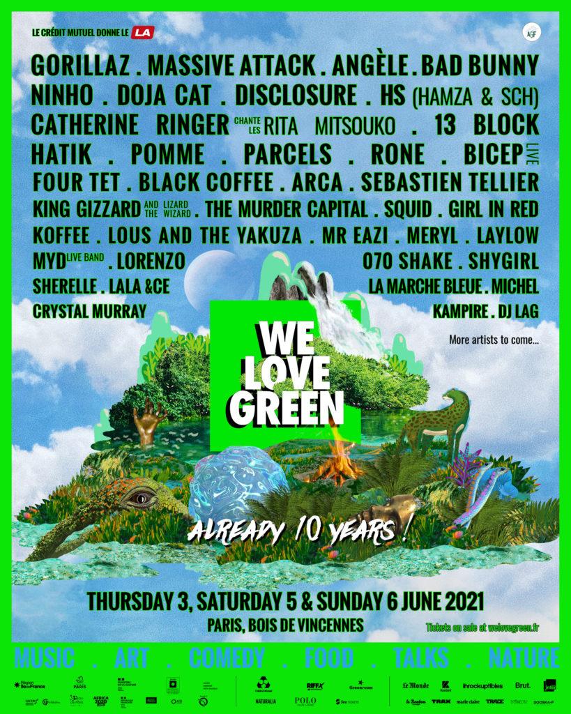 festival parisien We Love Green